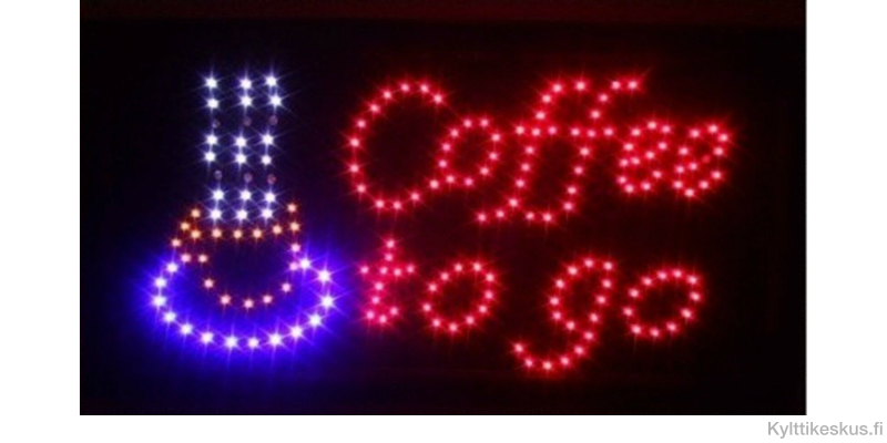 """Led-kyltti """"Coffee to go"""""""