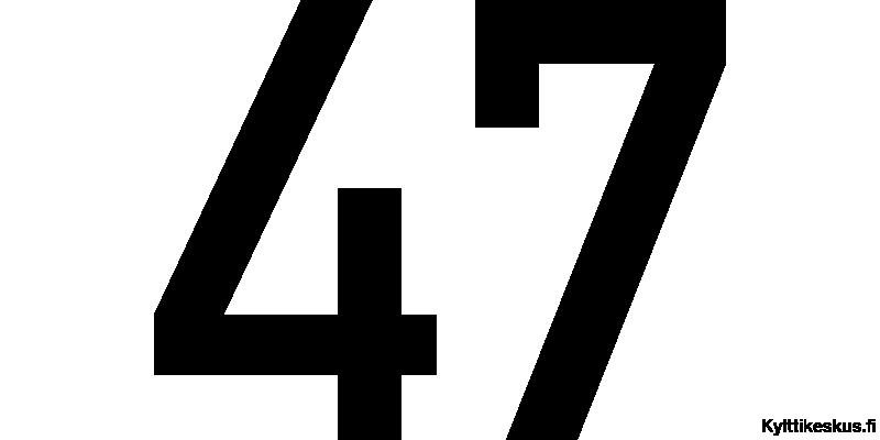 Numerotarra 10 - 20 cm