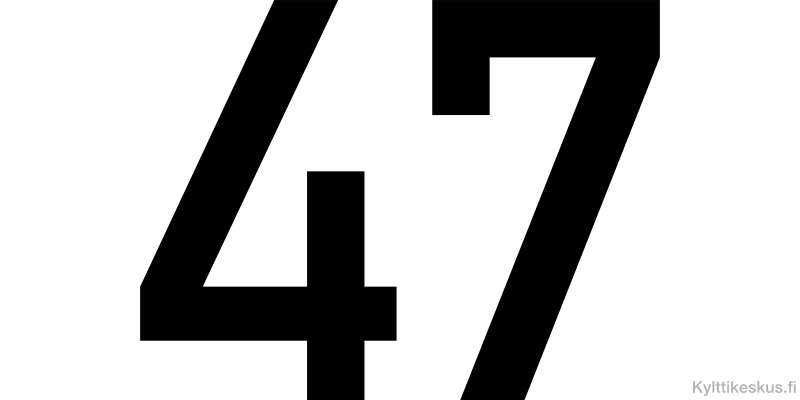 Numerotarra 100-200 mm